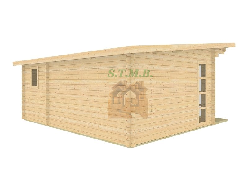 chalet ou bureau de jardin en bois mod le sydni mini 19. Black Bedroom Furniture Sets. Home Design Ideas