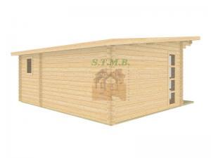 Bureau de jardin bureau de jardin en bois chalet de jardin sans permis de construire sydni 19 m 4