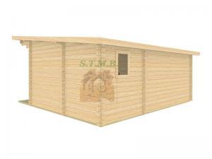 Bureau de jardin bureau de jardin en bois chalet de jardin sans permis de construire sydni 19 m 5