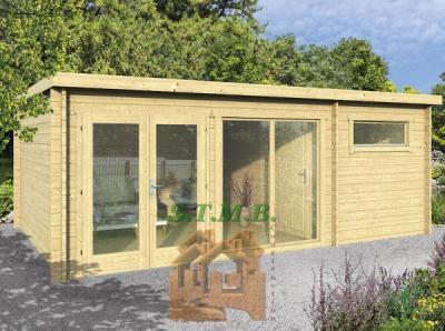 Bureau de jardin en bois stmb construction
