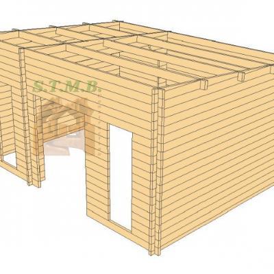 Bureau de jardin studio de jardin studio en bois studio sans permis de construire bureau de jardin en bois reims 20 m