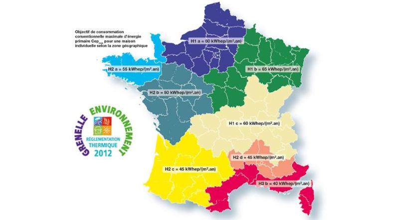 Comprendre la r glementation thermique rt 2012 en vigueur for Prix moyen m2 construction neuve rt 2012