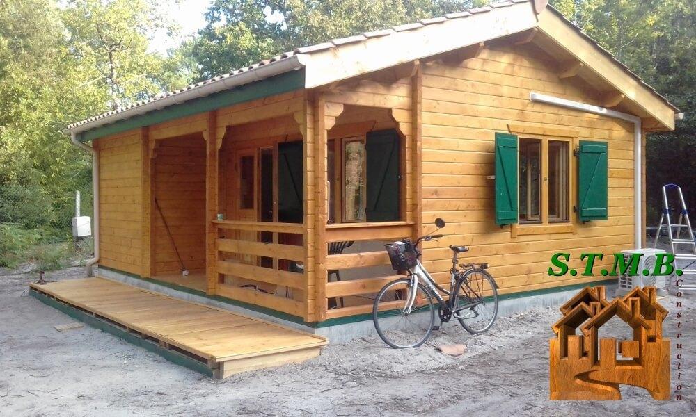 Chalet bois bordeaux stmb construction