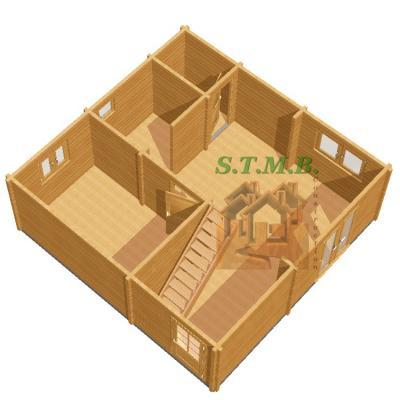 Chalet bois habitable mezzanine rdc riom 84m