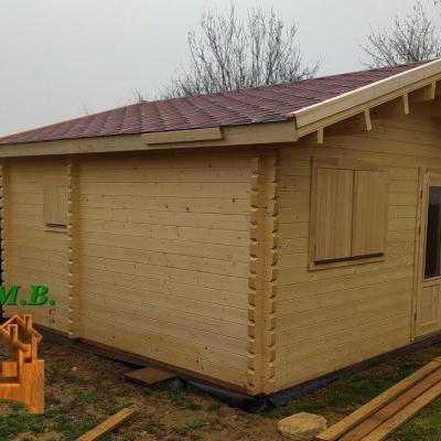 Chalet bois habitable stmb construction