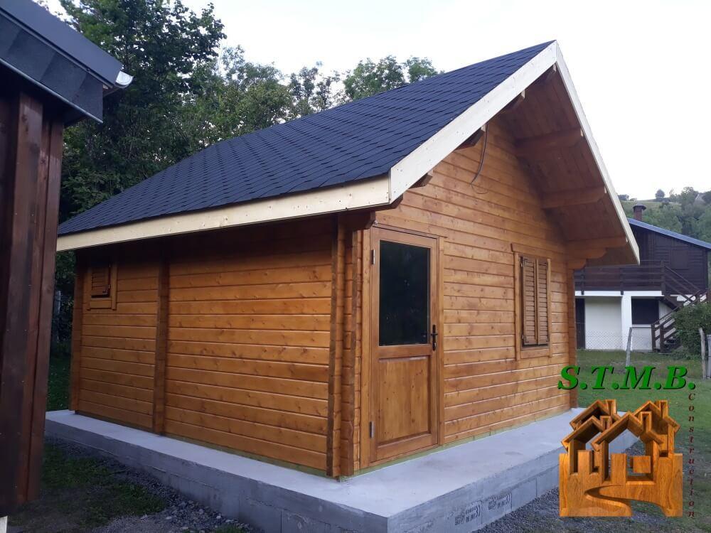 Chalet bois sans permis stmb construction