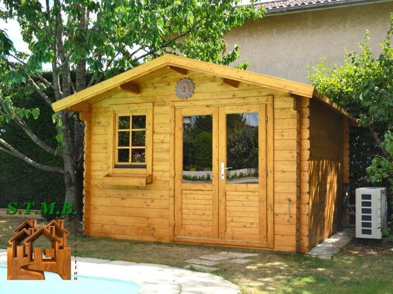 Chalet de jardin bois stmb construction