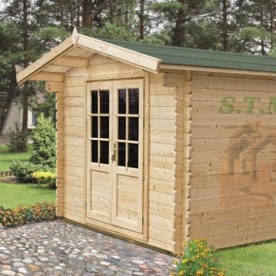 chalet de jardin en bois chalet jardin 34 mm. Black Bedroom Furniture Sets. Home Design Ideas