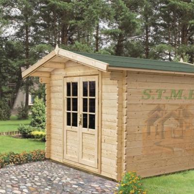 Chalet de jardin chalet en bois de jardin cabane de jardin en bois chalet de jardin pas cher olivier 7 5 m2