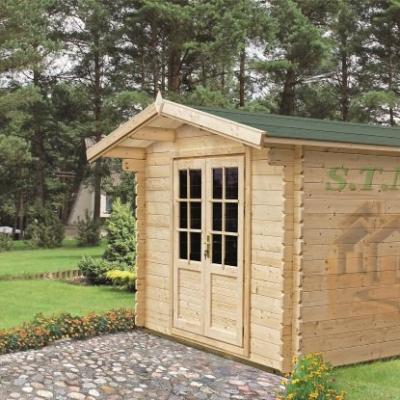 Chalet de jardin chalet en bois de jardin cabane de jardin en bois chalet de jardin pas cher olivier 9 m2