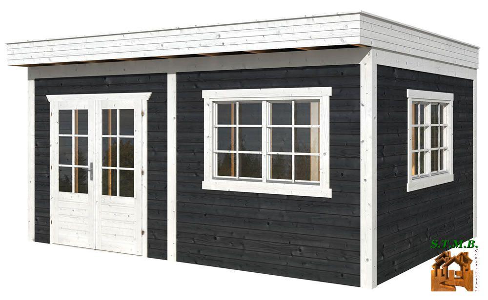 les diff rents styles de chalets de jardin stmb construction. Black Bedroom Furniture Sets. Home Design Ideas