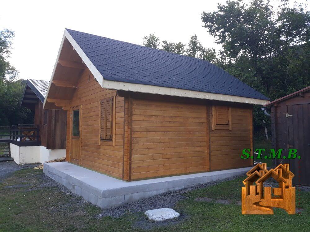 Chalet en bois 20m2 stmb construction