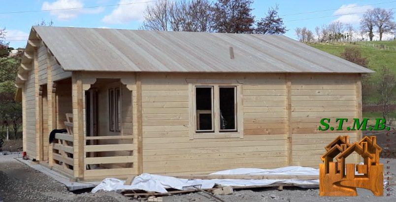 Chalet en bois 62 m2 stmb construction
