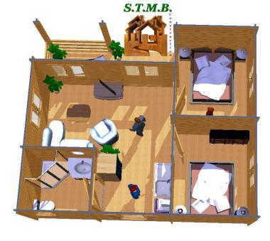Chalet en bois bordeaux 42 stmb construction photo 5