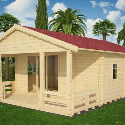 vente chalet bois habitable maison design. Black Bedroom Furniture Sets. Home Design Ideas