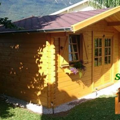 Chalet en bois chalet de jardin cabane en bois cabanon en bois