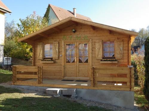 Chalet en bois chalet en bois habitable chalet bois 20m2 sans permis