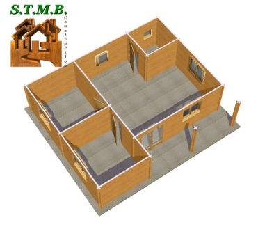 maison bois habitable en kit ou faire monter par nos. Black Bedroom Furniture Sets. Home Design Ideas