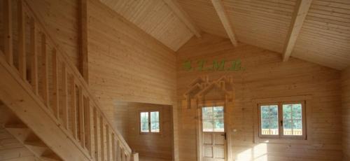 Chalet en bois habitable chalet en bois en kit chalet bois 50m2