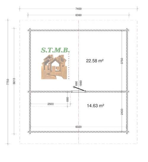Chalet en bois habitable mezzanine riom etage 84m 1