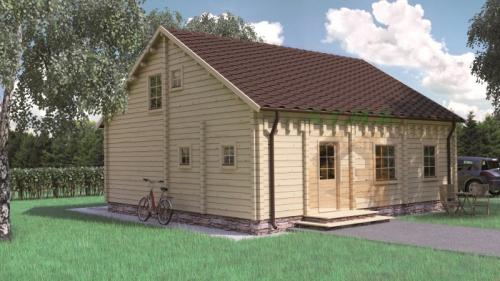 Chalet en bois maison bois habitable maison en bois en kit