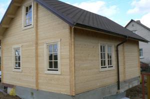 Chalet en bois mezzanine stmb construction