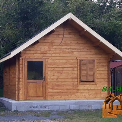 Chalet en bois sans permis stmb construction 1