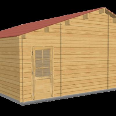 Chalet en bois toulouse stmb construction