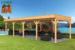 Choisir une pergola en bois stmb construction
