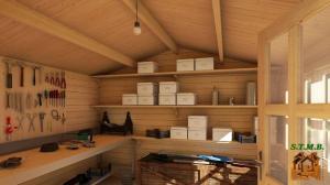 Comment amenager un abri de jardin en bois stmb construction