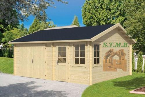 Construire son garage en bois