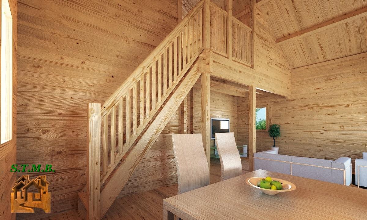 chalet mezzanine quelles pr cautions de construction stmb construction. Black Bedroom Furniture Sets. Home Design Ideas
