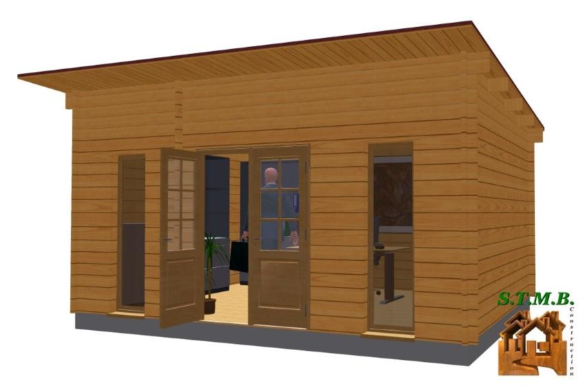 Ext 1 bureau jardin bois reims stmb construction