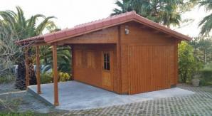 Garage avec carport