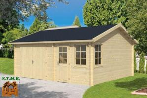 Garage bois chalet de jardin stmb construction