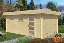 Garage bois en kit stmb construction