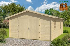 Garage en bois quelle essence choisir stmb construction
