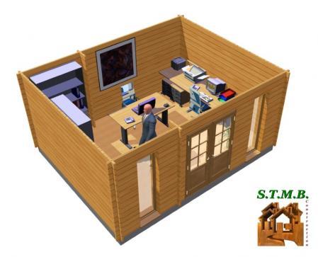 Int 1 bureau jardin bois stmb construction