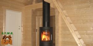Interieur chalet bois