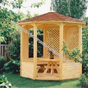 Kiosque en bois kiosques en bois construction kioste en bois kit kiosque en bois gloriettes gloriettes en bois