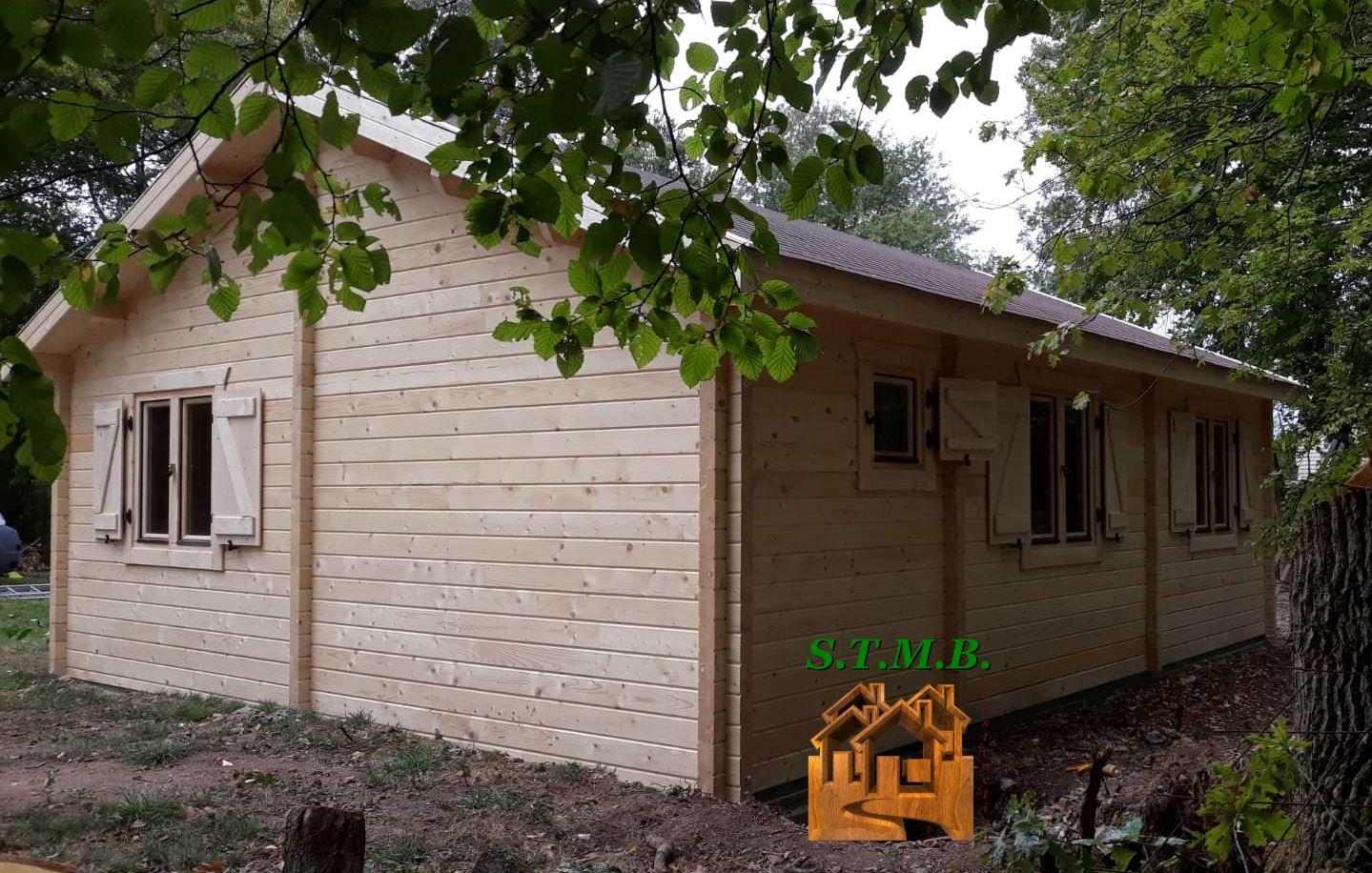 Kit chalet bois toulon 49 stmb construction
