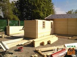 Le kit chalet bois facile a assembler stmb construction