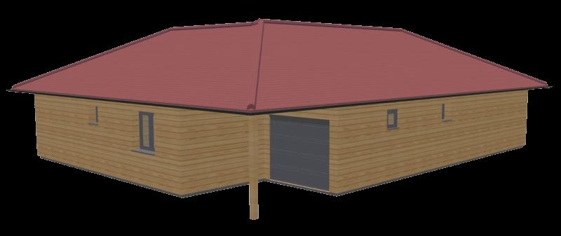 Maison bois 100 stmb construction