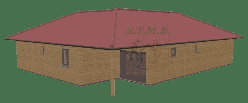 Maison bois 100m2 stmb construction 1