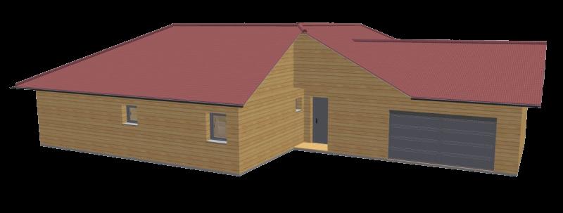Maison bois 130 stmb construction