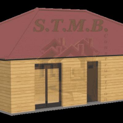 Maison bois 72m2 stmb construction 1