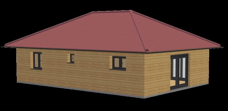 Maison bois 72m2 stmb construction 2