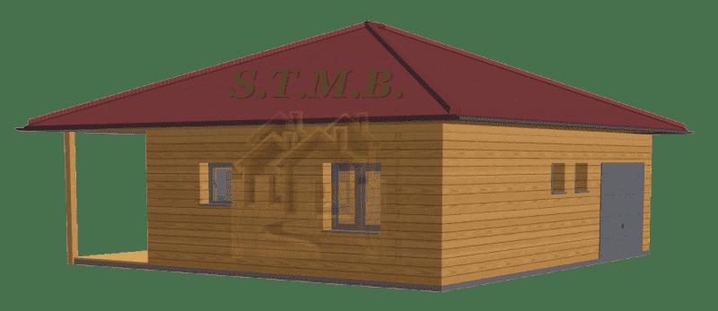 Maison bois habitable 49m2 stmb construction optimized