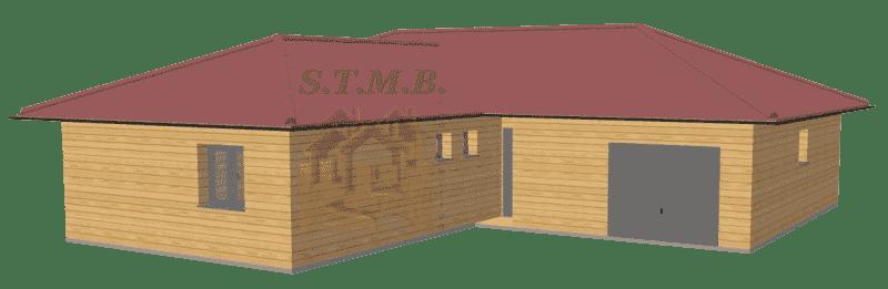 Maison en bois 120m2 stmb construction
