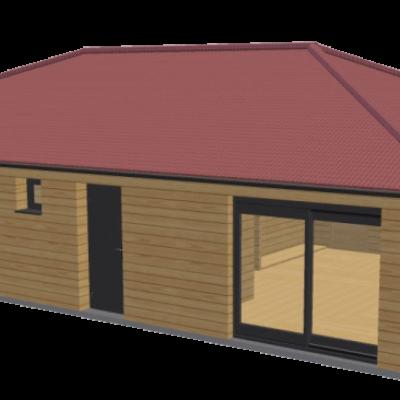 Maison en bois 84 stmb construction 1